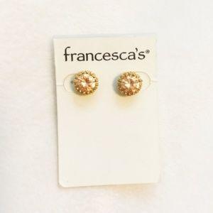 ✨2 for $15✨ Francesca's Gold Stud Earrings